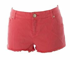 TOPSHOP MOTO Women's Coral Pink Denim Shorts 02Z13A US W34 86 cm NEW