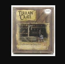 Terrain Crate: Gallows & Stocks - Mantic Plastic NEW