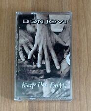 Bon Jovi Keep the Faith Cassette Tape New