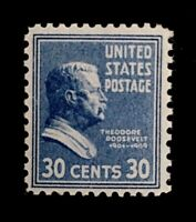 US Stamps, Scott #830 30c single VF/XF M/NH. Fresh & nice gum. 1939 Pres Issue