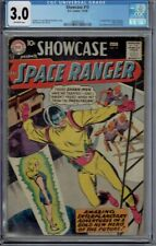 CGC 3.0 SHOWCASE #15 SPACE RANGER 1ST APPEARANCE 1958 OFF-WHITE PAGES