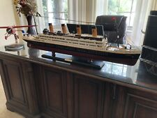 RMS Titanic Wooden Model, 40 Inches, Historic Moments