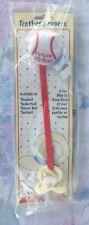 Stephan Baby Red/White Baseball Baby Pacifier Clip/Holder