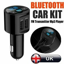 Bluetooth Car Handsfree Kit Wireless Auto FM Transmitter USB Charger MP3 Player