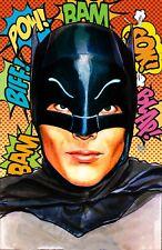 ADAM WEST BATMAN Signed print by Billy Tucci