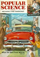 1952 Popular Science Magazine: What the New Ford Will Do