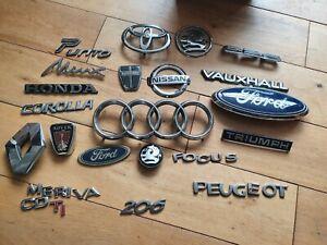 Old Car Badges Job Lot 1