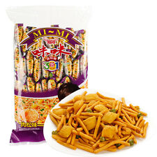 16g*40 Chinese Snack Shrimp Flavor Crisp Chips Leisure Food 爱尚咪咪虾条+蟹粒+青豆 三合一 肉松味