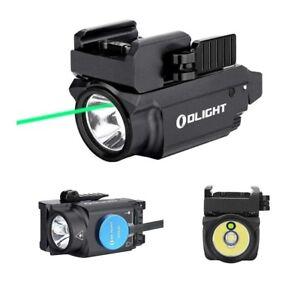 Olight Baldr Mini Pistol Flashlight with Green Laser Sight CW LED