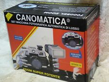 Canomatica  35mm with  focus free lens Camera boxed new condition + case