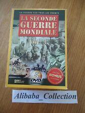 COFFRET 1 LOT 5 DVD ** LA SECONDE GUERRE MONDIALE 1939 1940 1941 1942 airs