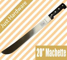 "New Machete 20"" 50CM Blade 63cm overall Survival Bush Hunting Camping"