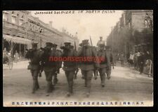 CHINA VLADIVOSTOK? JAPANESE SOLDIERS MARCH PC 1913 C. E. F. Cds to Dover - C547