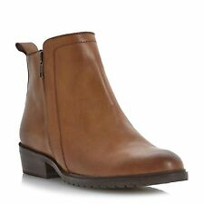 Dune Zip Block Boots for Women