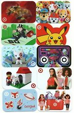 Lot of (10) Target Gift Cards No $ Value Collectible Kids Favs Troll Lego Funko