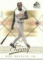 2001 SP Game Bat Edition In the Swing #IS1 Ken Griffey Jr. - NM-MT