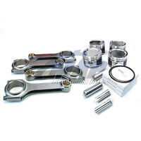 Manley Pistons 99.5mm 8.5:1 & H-Tuff Rods Kit for 06-14 Subaru WRX 04+ STi EJ25