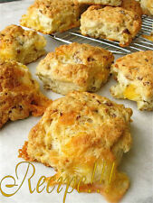"☆""RECIPE""☆The Original Sausage Cheese Biscuit☆Oozing w/ Cheese!!!☆Two Recipes!!☆"
