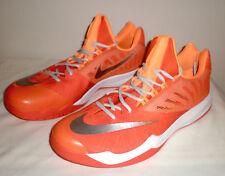 1dcad5871a70 Men NIKE Zoom Run the One Low Basketball Shoe James Harden ORANGE WHITE sz  18
