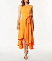 Karen Millen Asymmetric Hem Dress Was £190