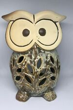Ceramic Tea Light Candle Holder Aromatherapy Essential Fragrance Oil Burner Owl