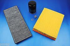 3x Filter Innenraumfilter Ölfilter Luftfilter VW Passat 3B 3BG 1,6 + 2,0 96-00