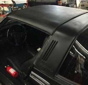 Porsche Targa de Rechange Haut Pour 1967-94 Noir Levant Vinyle Grain