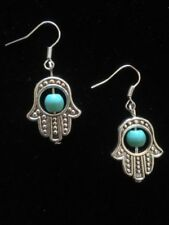 Unbranded Turquoise Silver Plated Costume Earrings