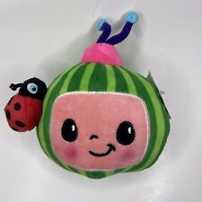 """NEW - Official Cocomelon WATERMELON with Ladybug 6"""" Plush - 18m+"""