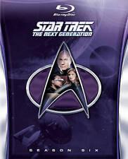 Star Trek: The Next Generation - Season 6 (Blu-ray Disc, 2014, 6-Disc Set)