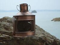 Ships Starboard Copper Lantern -Lamp - Port star board Masthead Red Green Pirate