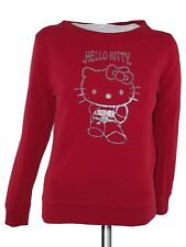 hello kitty felpa donna rosso taglia m medium