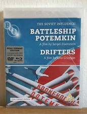 Battleship Potemkin / Drifters - Blu-ray / DVD - New And Sealed