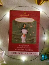Hallmark Keepsake Ornament - Spotlight On Snoopy - Beaglescout - Year 2001