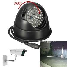 48LED IR Infrared Illuminator Light Night Vision Rorate 360° For Security Camera