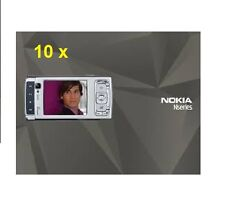 10 x GENUINE NOKIA N95 ENGLISH USER MANUAL GUIDE CD ROM