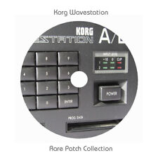 Korg Wavestation Rare Patch Libraries - Download
