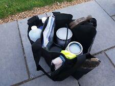 10 x HEAVY DUTY STRONG DURABLE DIY TOTE TOOL BUCKET BAG - POCKETS / STORAGE