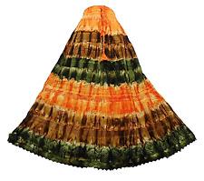 NUEVO Precioso Tie-Dye Hippy Gitano Falda Larga Beach BOHO Número 45,5 14 16 18