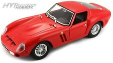 BBURAGO 1:24 FERRARI 250 GTO DIE-CAST RED 26018