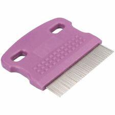 Mini Soft Protection Dog/ Cat Flea Comb Removes Fleas, Nits and Debris