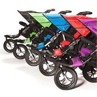Out N About Nipper 360 Double Buggy V4 Inc Raincover and Basket