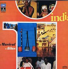 LP  INDIA NORTH INDIAN FOLK MUSIC  MUSICAL ATLAS (UNESCO COLLECTION)