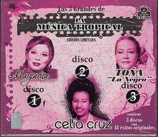 Margarita La Diosa de la Cumbia,Tona La Negra,Celia Cruz 3CD New Nuevo sealed