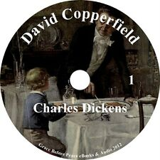 David Copperfield by Charles Dickens a Classic Adventure Audiobook on 2 MP3 CDs