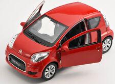 Livraison rapide CITROEN c1/C 1 rouge/red welly modèle auto 1:34 NOUVEAU & OVP
