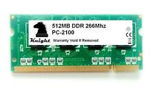 512MB DDR 266 MHZ PC 2100 SODIMM LAPTOP MEMORY