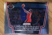 2020-21 Panini Prizm Widescreen James Harden Houston Rockets #8 - Nets