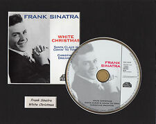 Frank Sinatrat White Christmas CD Presentation