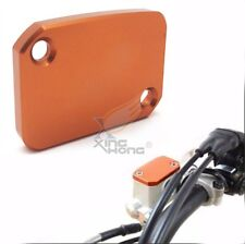 CNC Front Brake Master Cylinder Reservoir Cover For KTM 125 200 390 Duke Orange